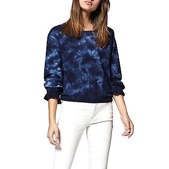 | Tie-Dye Slub pullover topp