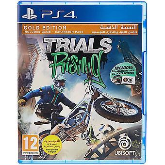 Trials Rising - Gold Edition PS4 Game (Engels/Arabisch Vak)