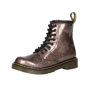 Dr martens 1460 glitter rose brown softy t boots