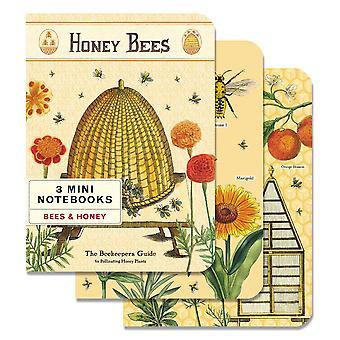 Cavallini Honey & Bees Journal Diary Notebooks x 3