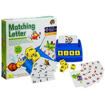 Engelsk alfabet pædagogisk spil for børn