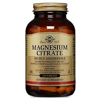 Solgar Magnesium Sitraatti, 120 Tabs