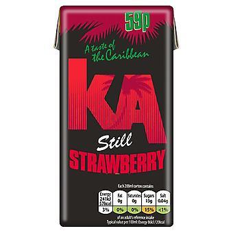 KA Still Erdbeersaft Getränk 288ml x27 PM