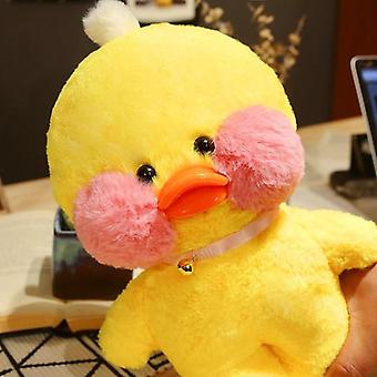 Pink Lalafanfan Kawaii Cafe Mimi Duck Plush Toy, Cute Doll Soft Animal, Kids