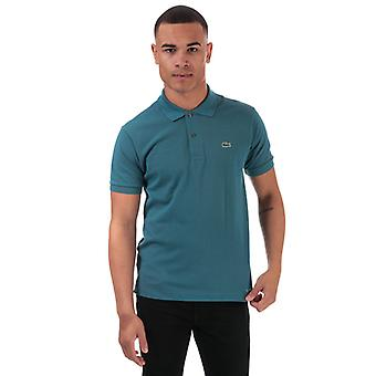 Men's Lacoste Classic Fit L.12.12 Polo Shirt in Blue