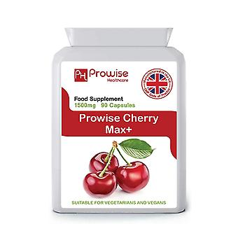Cherry Max 1500mg 90 Capsules | Suitable For Vegetarians & Vegans | Made In UK