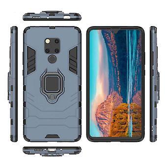 Keysion Huawei Mate 20 -kotelo - Magneettisen iskunkestävä kotelon kansi Cas TPU Sininen + Jalusta