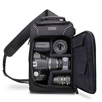 Usa gear dslr camera rugzak, anti-shock tas met verwijderbare regenhoes, verstelbare lens opslag en