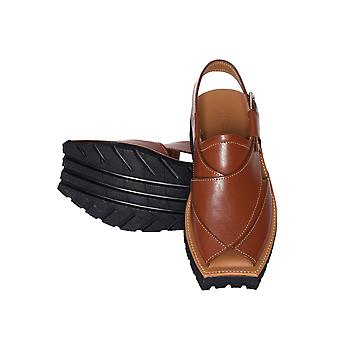 Mikaal c2 mens cowhide rugged leather sandals