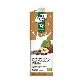 Hazelnut rice drink 1 L