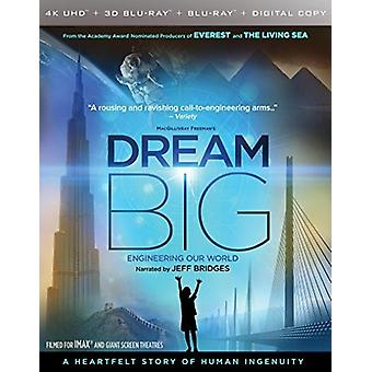 Dream Big: Engineering Our World [Blu-ray] USA import
