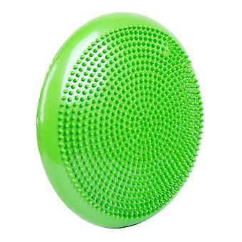 Balance Pude til Fitness Pilates Yoga Balance Disk Grøn