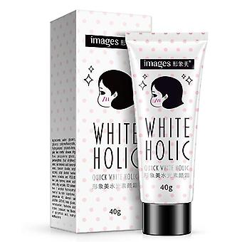 Images Quick White Cream Long Lasting Moisturizer Oil Control Cover Pores Acne