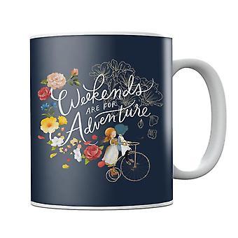 Holly Hobbie Weekend Adventure Light Text Mug