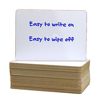 """Dry Erase Board, 5"""" X 7"""", Class Pack Of 24"""