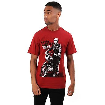 Barbour International Steve Mcqueen Stand And Ride T Shirt