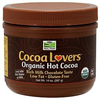 Now Foods Cocoa Lovers Organic Hot Cocoa 397 g