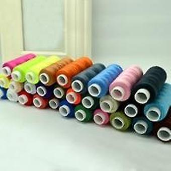 Hilo de coser, hilo de coser colores de mezcla doméstica