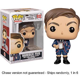 Umbrella Academy Number Five Pop! Vinyl Chase Ships 1 in 6