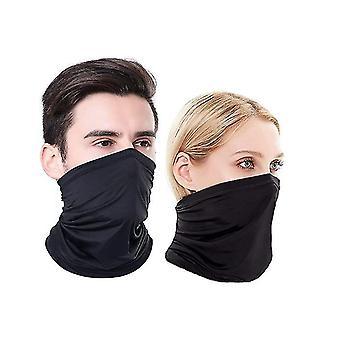 Masque de visage d'écharpe de visage de visage de gaiter de cou de gaiter pour la poussière de visage pour la poussière froide de vent