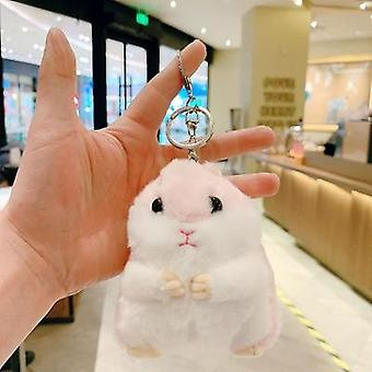 Hamster Keychain Pendant Cute Backpack Doll