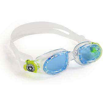 Aqua Sphere Moby Junior Swimming Goggle - blå linser - klar