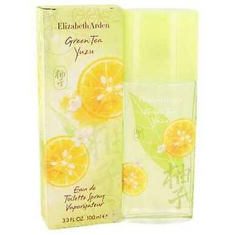 Zielona herbata Yuzu by Elizabeth Arden Eau de Toilette Spray 3,4 oz (kobiety) V728-532856
