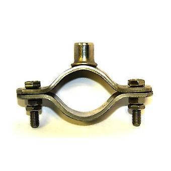 T304 Tuyau à tuyaux bossé de type T304 En acier inoxydable Munsen pour 40 nb pipe - M10 Boss