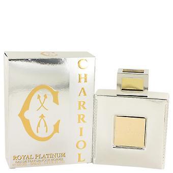 Charriol Royal Platinum Eau De Parfum Spray By Charriol 3.4 oz Eau De Parfum Spray