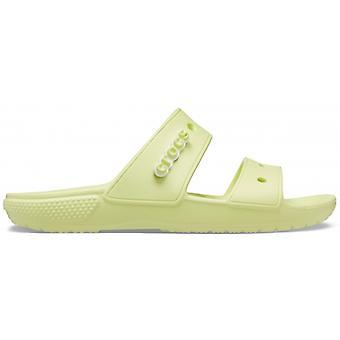 Crocs 206761 Classic Sandal Ladies Sandals Lime Zest