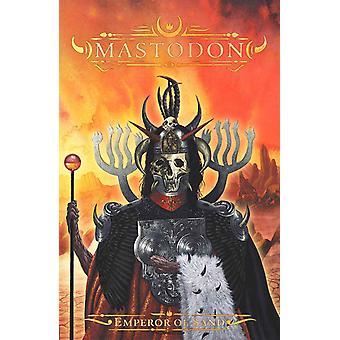 Mastodon Poster Emperor Of Sand band logo Official textile flag 70cm x 106cm