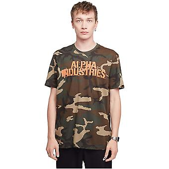 Alpha Industries Blurred 186506408 t-shirt universel pour hommes