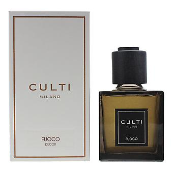 Culti Milano Decor Diffuser 250ml - Fuoco - Sticks Not Included In The Box