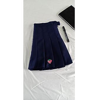 Korean Tennis Skirt For Badminton, Pleated Short Skirt