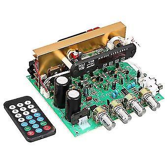 Płytka wzmacniacza Bluetooth 80w 2.1-kanałowy subwoofer amplificador płytka audio z aux fm tf u dysku kina domowego diy