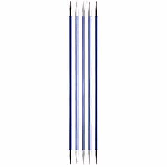 KnitPro Zing: Neuletappit: Kaksiosainen: Viiden sarja: 15cm x 4.50mm