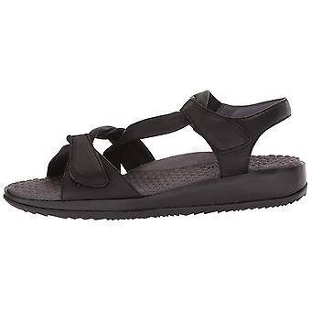 SoftWalk Womens Del Rey Open Toe Casual Slide Sandals