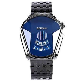 Fashion Mens Quartz Watches(Black)