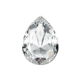 Swarovski Crystal, #4320 Päärynä Fancy Stone 18x13mm, 1 kpl, Crystal F