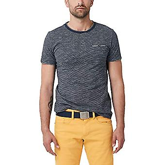 s.Oliver 28.906.32.6999 T-skjorte, Blå (Night Blue 59g0), XX-Large Menn