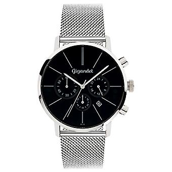 Gigandet Men's Analogueic Watch with Stainless Steel Strap G32-006