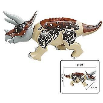 Brutal raptor jurassic blocks world 2 dinosaur figures