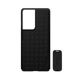 Cover Samsung S21 Ultra Video Holder Super Frosted Shield Nillkin Black