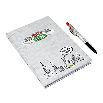 Friends Central Perk Notebook et Pen Ensemble cadeau