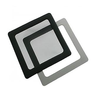 DEMCiflex Dust Filter 120mm Square - Black/Black