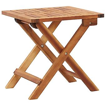 Coffee table Foldable 40X40X40 Cm Solid Acacia wood