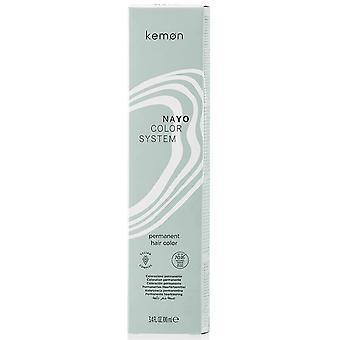 Kemon Nayo Permanent Hair Colour - Ash Pearl Brown 4.81