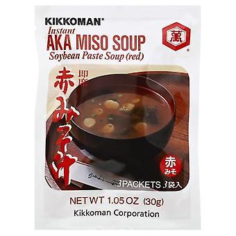 Kikkoman Soup Miso Aka, Case of 12 X 1.05 Oz