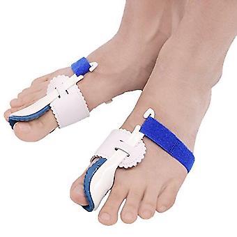 2pcs Thumb Valgus Corrector Hallux Valgus Protector Guard Toe Separator Orthopedic Straightener