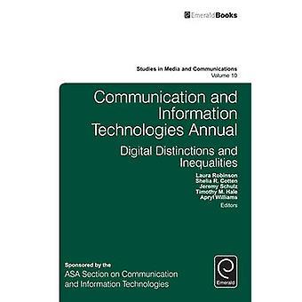Kommunikation und Informationstechnologien Jährliche digitale Unterscheidungen Ungleichheiten von Robinson & Laura